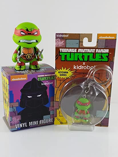Amazon.com: Raphael Mini + llavero de Bundle Pack – TMNT ...
