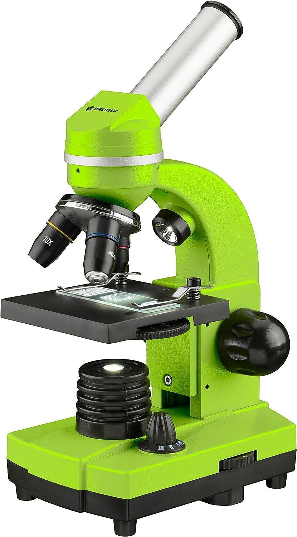 Bresser BIOLUX Sel - Microscopio para niños y Adultos (con Soporte para Smartphone): Amazon.es: Electrónica