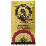 Samurai Ramen UMAMI サムライラーメン旨味 1箱 2人前 (スープ・箸2膳・侍言葉トランプ1枚付)
