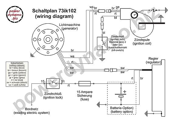 amazon com powerdynamo mz b ignition stator bultaco 51oz flywheel rh amazon com  bultaco metralla wiring diagram