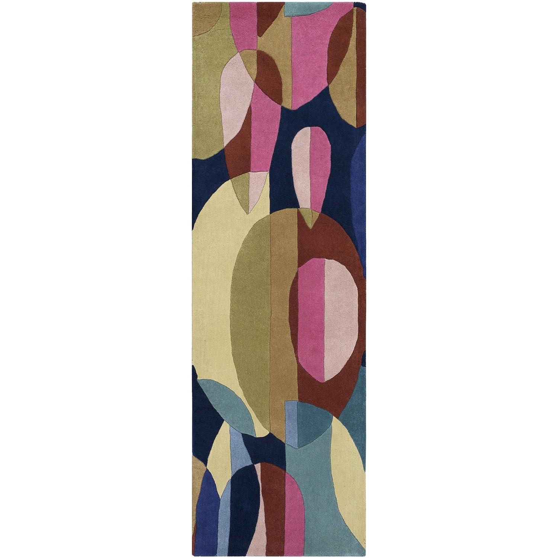 Surya FM7206-23 Forum Area Rug 2 x 3 Pink//Blue