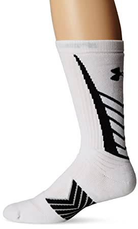 Under Armour para hombre Sportswear Calcetines UA innegable Crew Youth Blanco blanco/negro Talla:large: Amazon.es: Deportes y aire libre