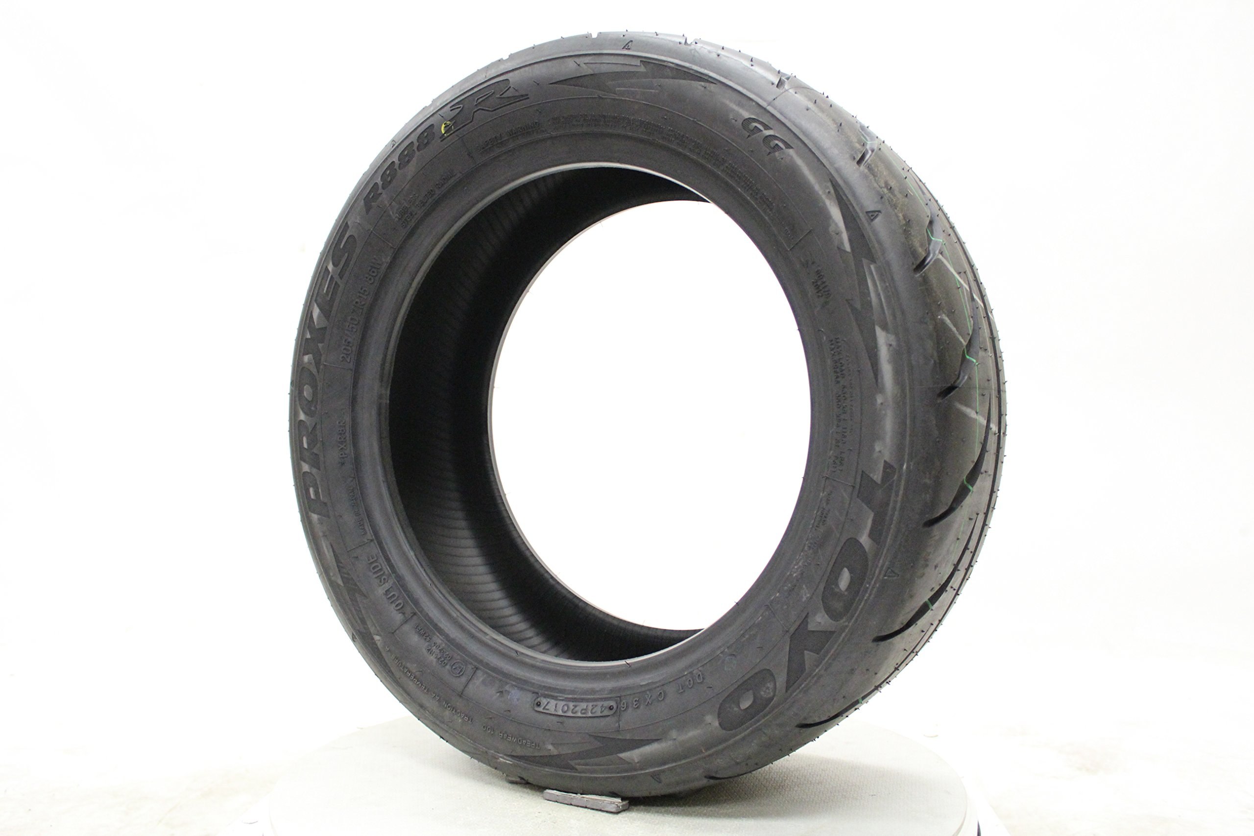 Toyo Proxes R888R Automotive-Racing Radial Tire - 205/50ZR15 86W