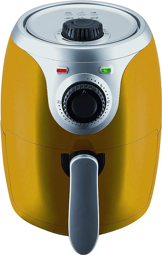 Master Airfryer – freidora de 2 litros, Color Amarillo: Amazon.es: Hogar