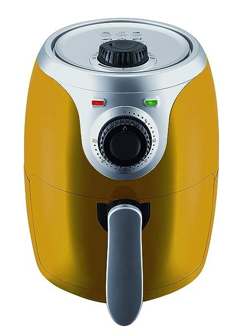 Master Airfryer – freidora de 2 litros, Color Amarillo