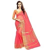 Glory Sarees Women's Cotton Silk Saree