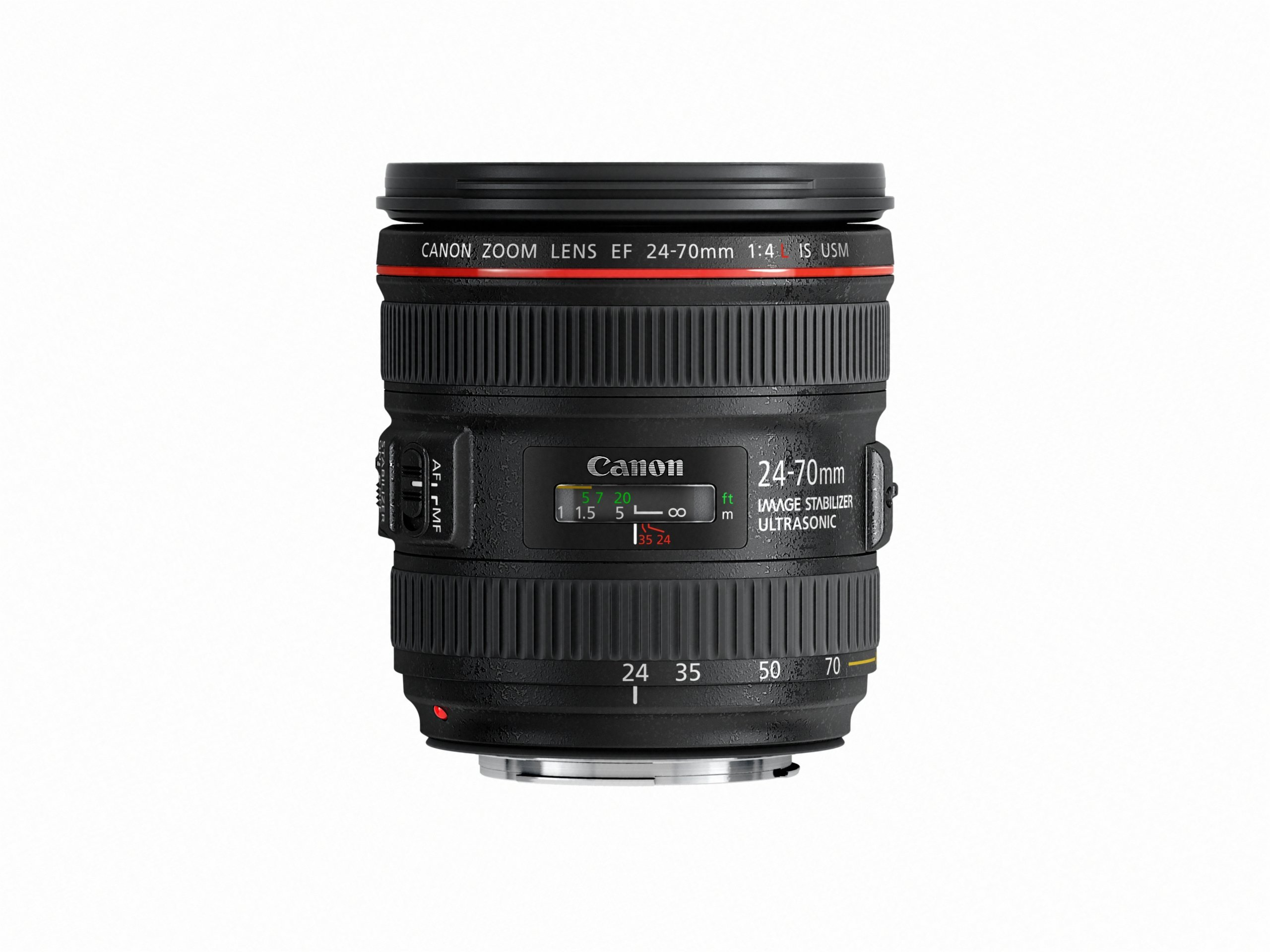 Canon EF 24-70mm f/4.0L is USM Standard Zoom Lens (Renewed) by Canon