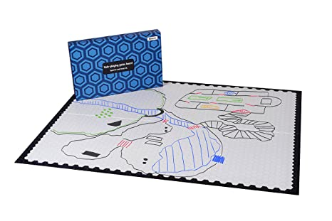 Amazoncom Hexers Xl Role Playing Game Board Mat Alternative
