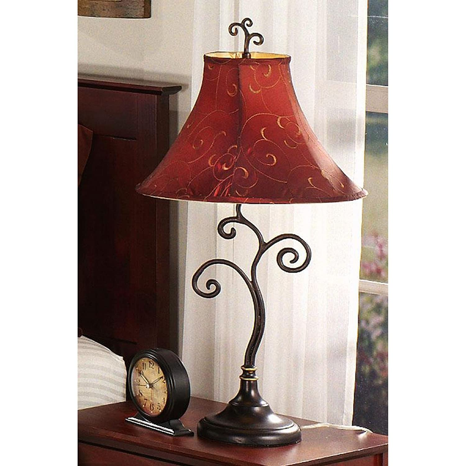 Kenroy home richardson table lamp bronze floor lamp amazon aloadofball Images
