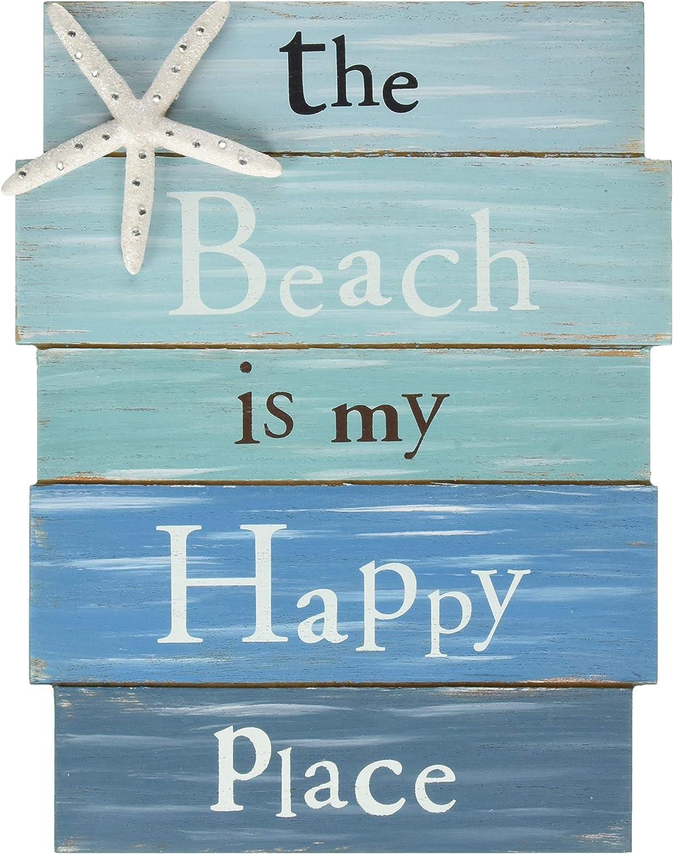 Amazon.com: The Beach Is My Happy Place - Cartel de ...