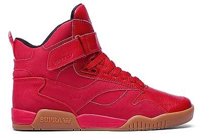 info for a977c 036e6 Supra Mens Bleeker Red Gum Shoes