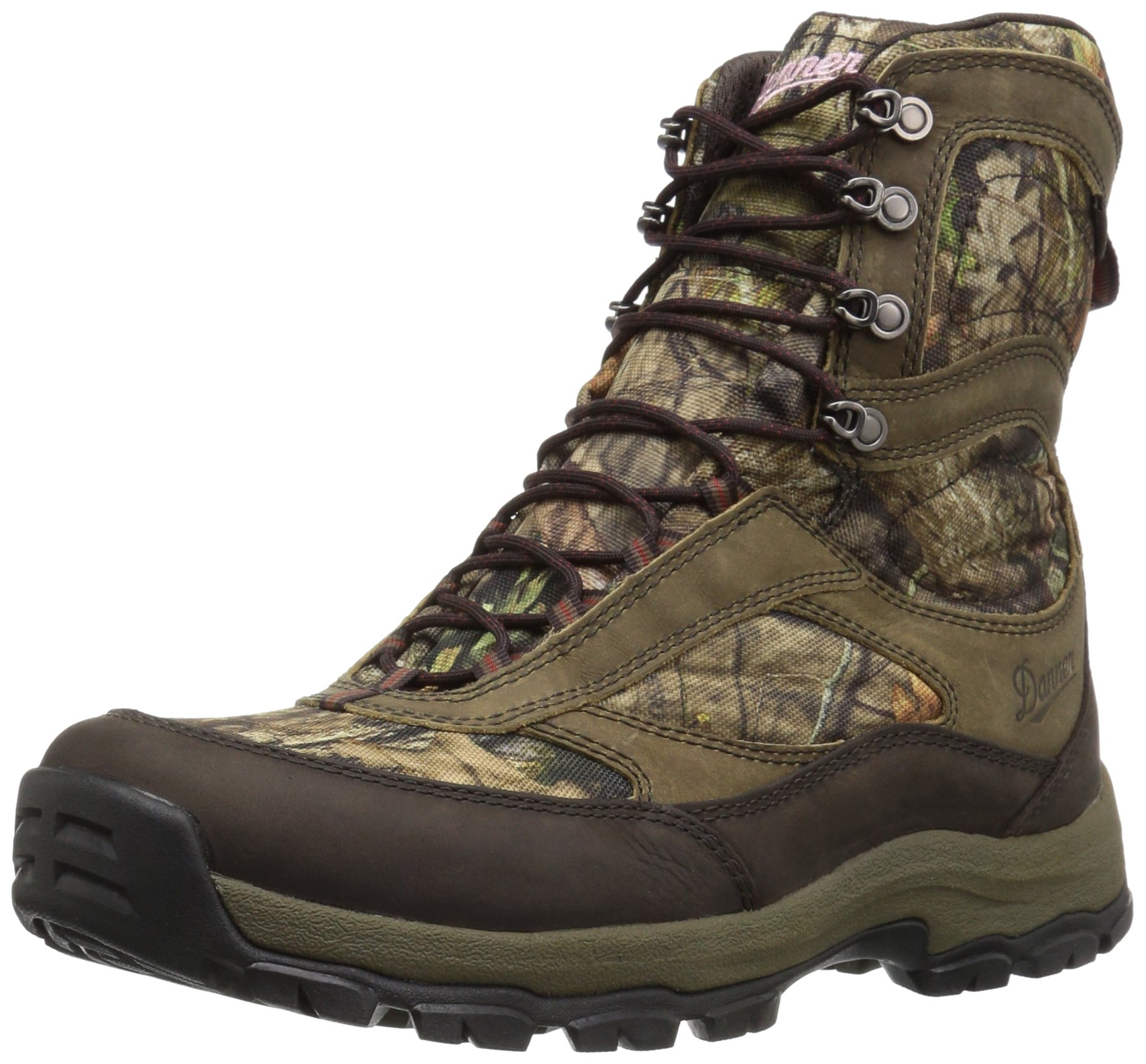 Danner Women's High Ground Hunting Shoes, Mossy Oak Break up Country, 5 M US
