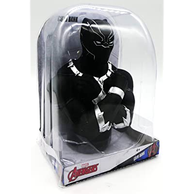 Marvel Avengers Black Panther Coin Bank: Toys & Games