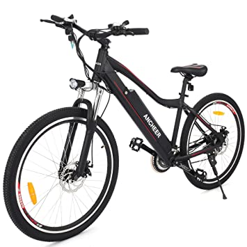 Ancheer Electric Mountain Bike Approx 24 34 Miles