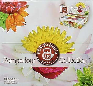 Pompadour Collection Surtido de Té e Infusiones - 180 bolsitas