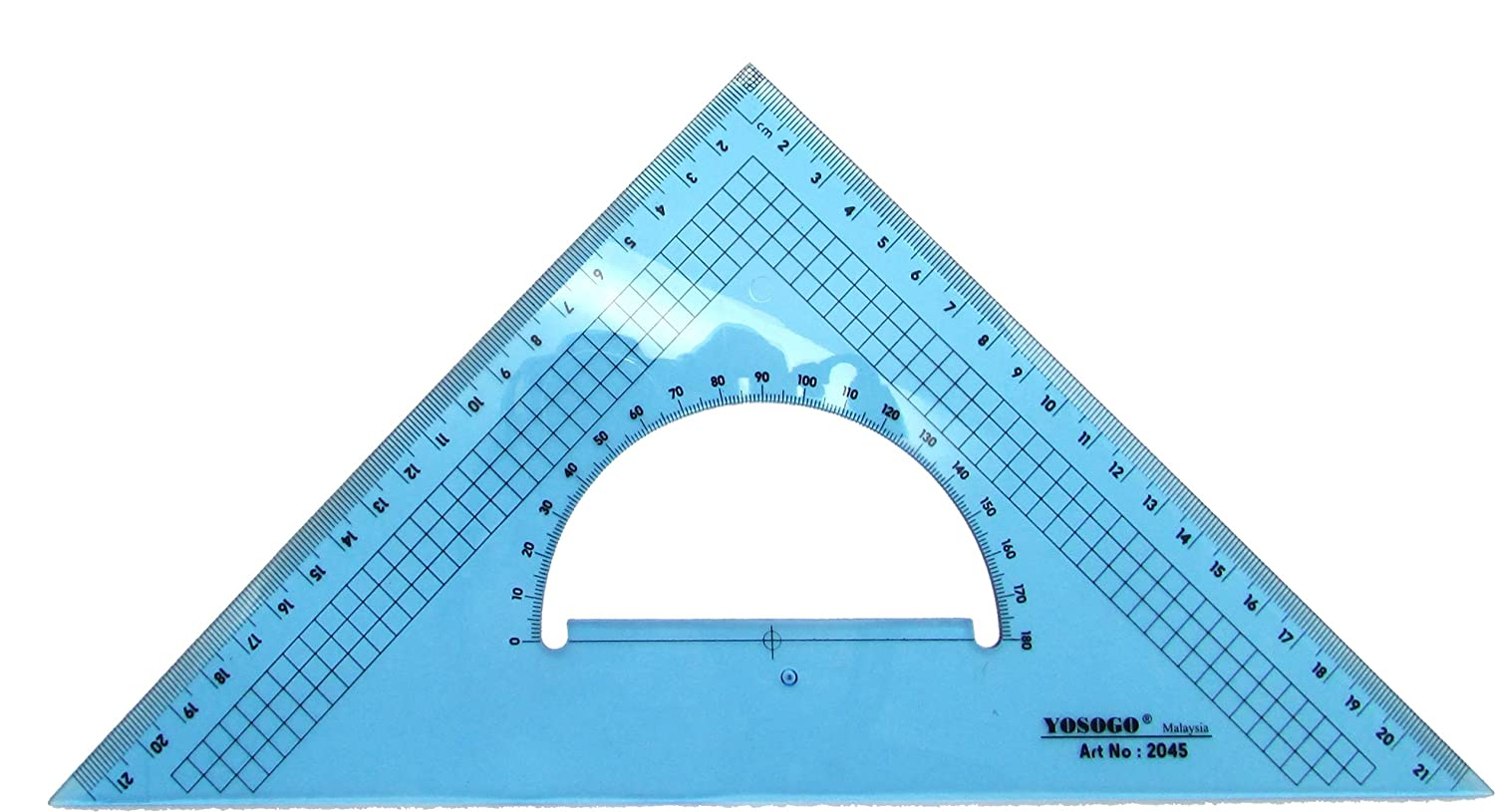 45//90 Degree 30//60 Degree /& 9 inch 22 cm CM Scale Set of 2 Large Triangle Set Square: 12 Inch 30 cm