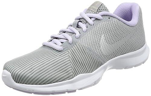89b84b97d583d Nike Women s WMNS Flex BIJOUX W.Gry M.Slvr-Violet Mist Multisport Training  Shoes-7 UK India (41 EU) (881863-008)  Amazon.in  Shoes   Handbags