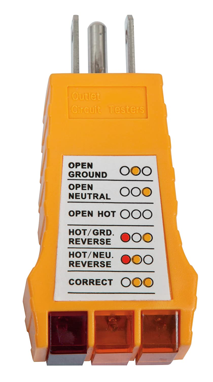 Klein Tools Rt100 Receptacle Tester Circuit Testers Sperry Instruments Breaker Finder Accessory Kit Hd Supply