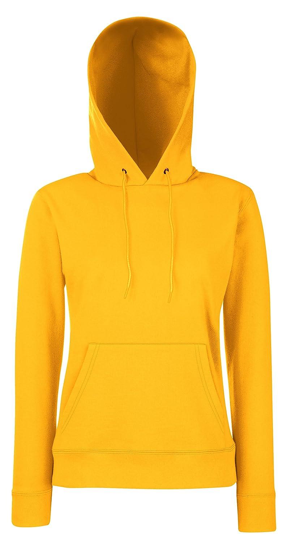 Lady-Fit Hooded Sweat - Farbe: Sunflower - Größe: XXL 62-038-0