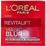 L'Oréal Paris Revitalift Magic Blur Crema Viso Anti-Età Levigante Lisciante Quotidiana, 50 ml