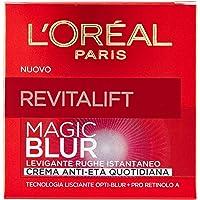 L'Oréal Paris Revitalift Magic Blur Crema Viso Anti-Età, Effetto Levigante e Lisciante, Formula Arricchita con Opti-Blur e Pro Retinolo A, 50 ml