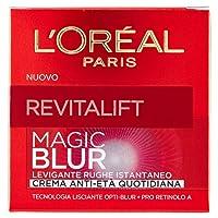 L'Oréal Paris Revitalift Magic Blur Crema Viso Anti-Età, Effetto Levigante e Lisciante Giorno dopo Giorno, Formula Arricchita con Opti-Blur e Pro Retinolo A, 50 ml