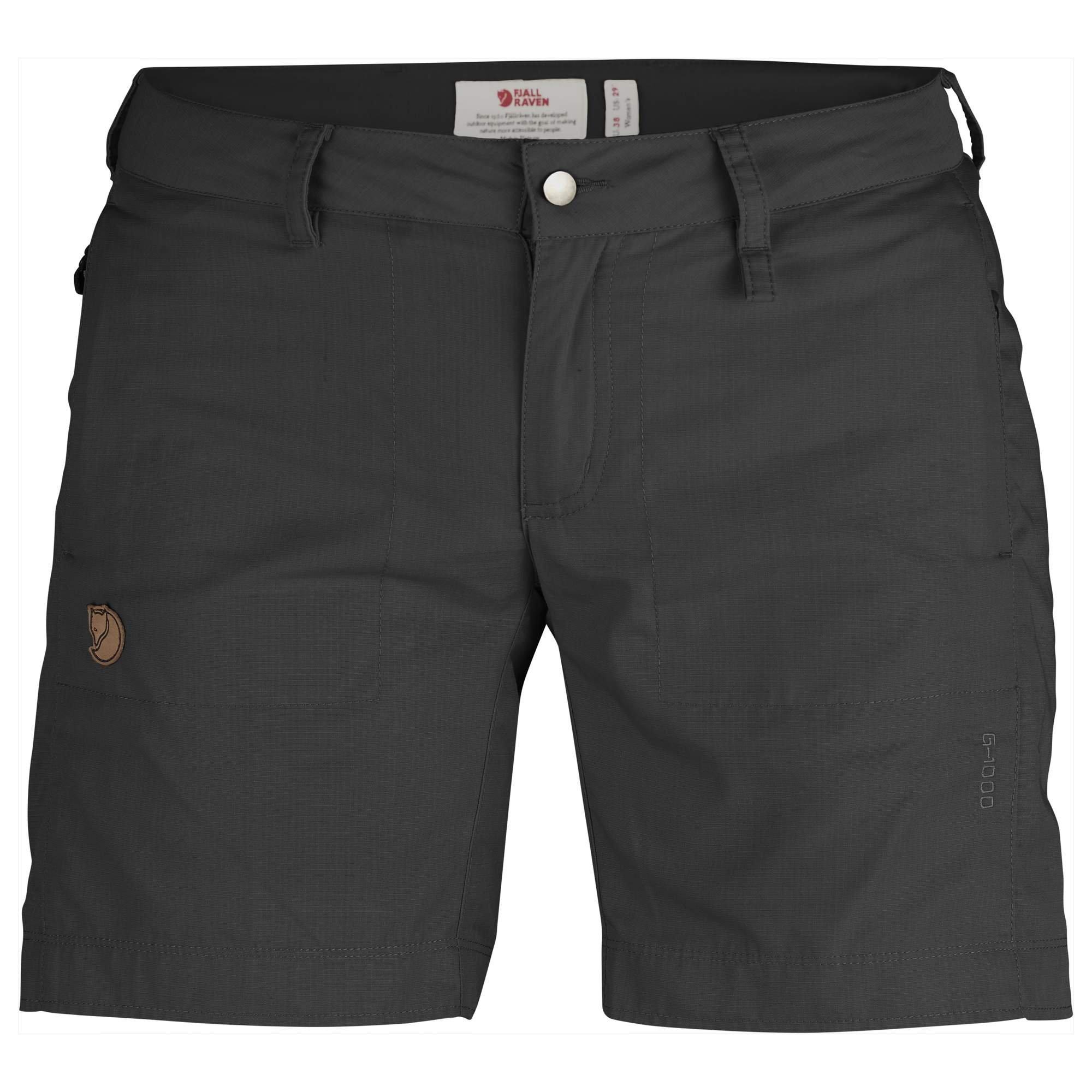 Fjallraven - Women's Abisko Shade Shorts, Dark Grey, 48 by Fjallraven