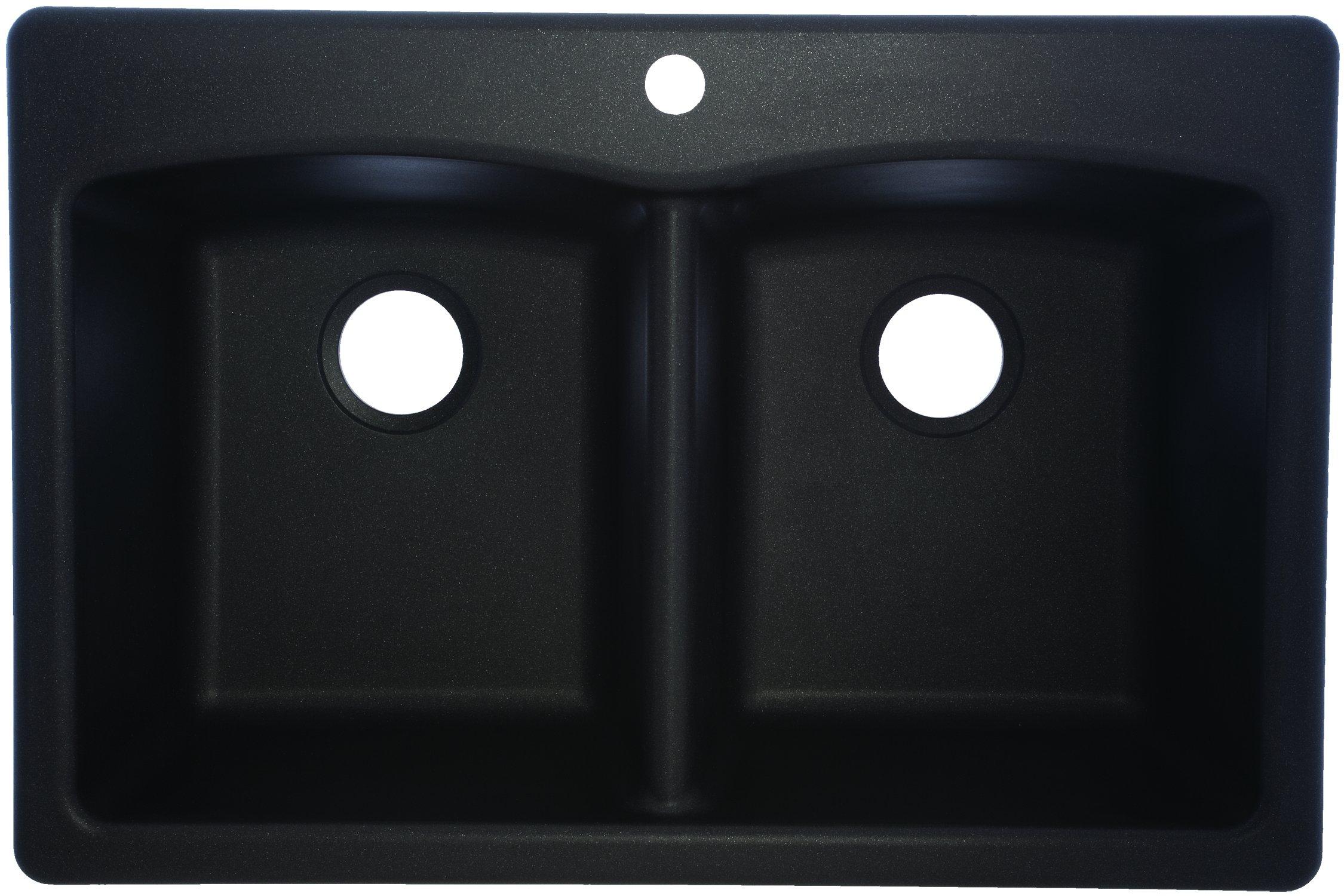 Franke EDOX33229-1 Sink, 33'' x 22'' x 9'' deep, Onyx by FRANKE