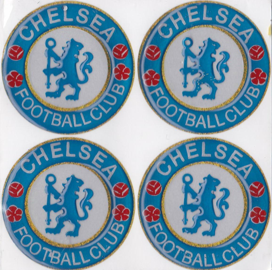 Amazon Com Emboss Sticker G401 4x Chelsea Fc Football Club Soccer Team Sports Car Bumper Luggage Window Wall Skate Decal 2 5cm Home Kitchen [ 1148 x 1156 Pixel ]
