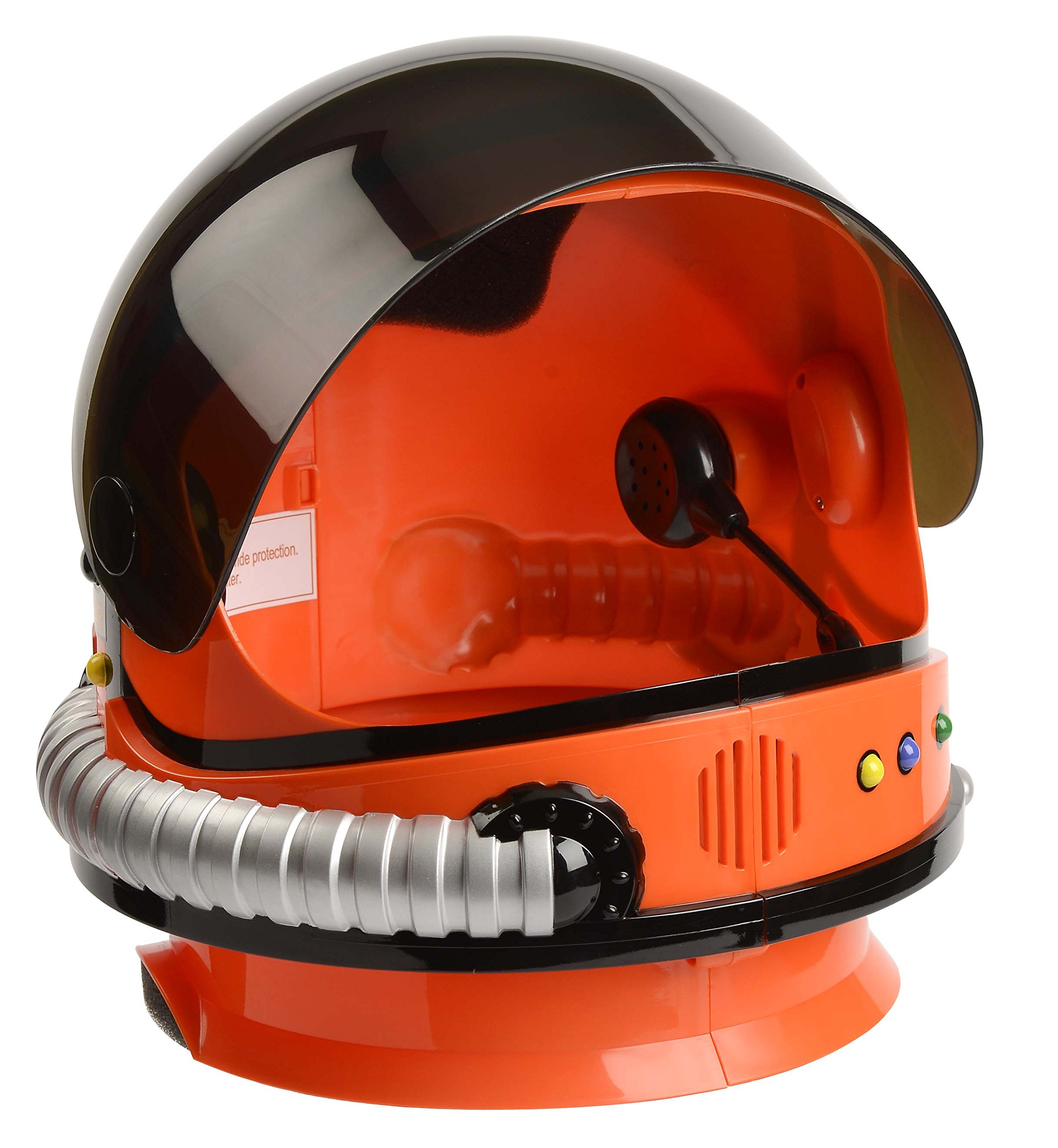 Aeromax Jr. Astronaut Helmet with Sounds and Retractable Visor, Orange