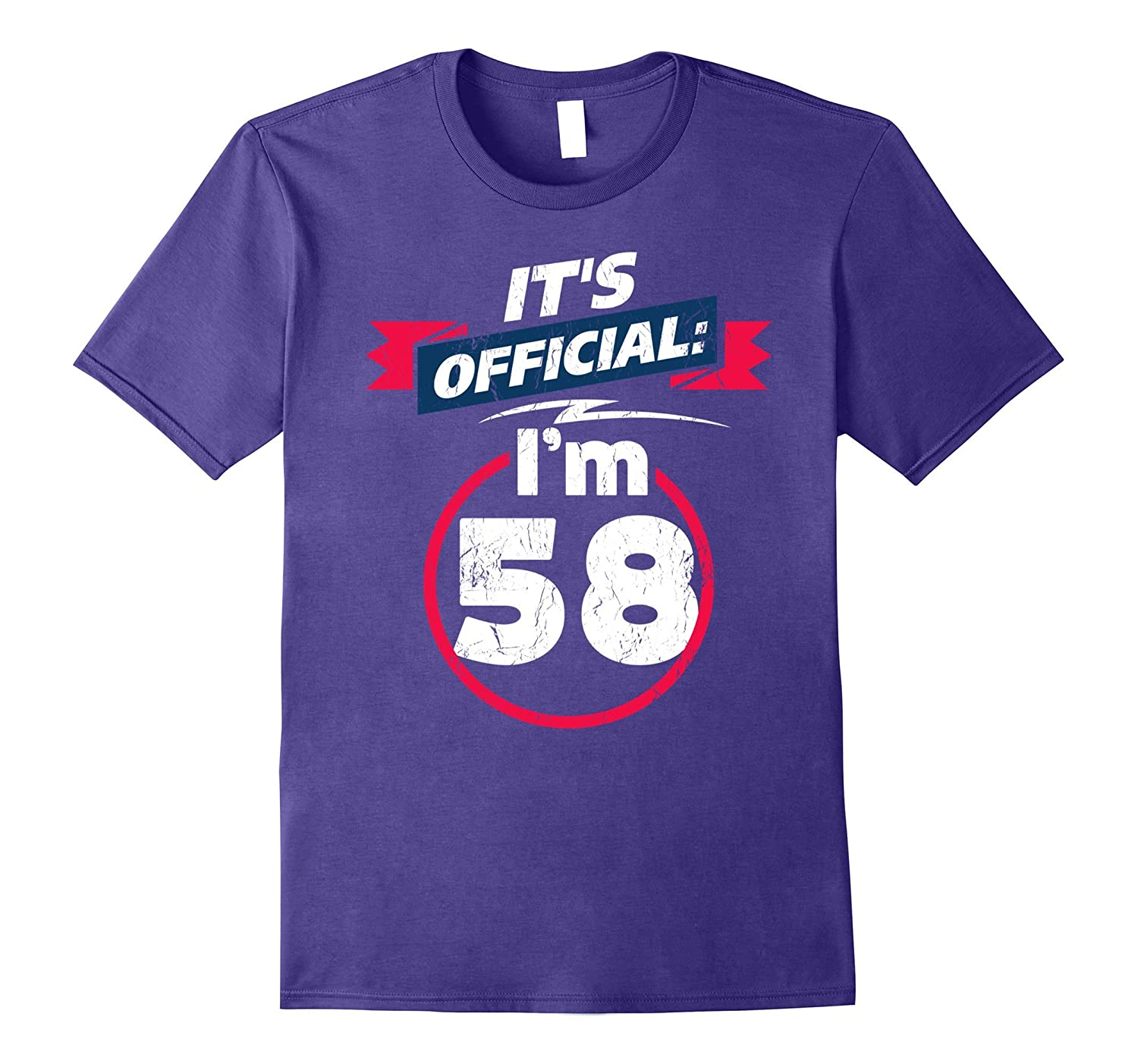 58 Year Old T Shirt 58th Birthday Present Idea Tee Shirt-PL