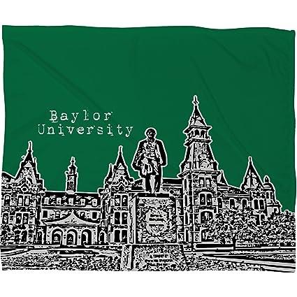 Amazon Deny Designs Bird Ave Baylor University Green Fleece Best Baylor Throw Blanket