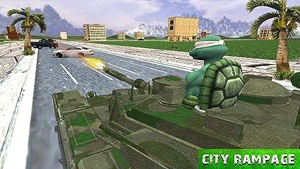 Amazon.com: Turtle Hero Ninja Warrior: Tank Attack: Appstore ...