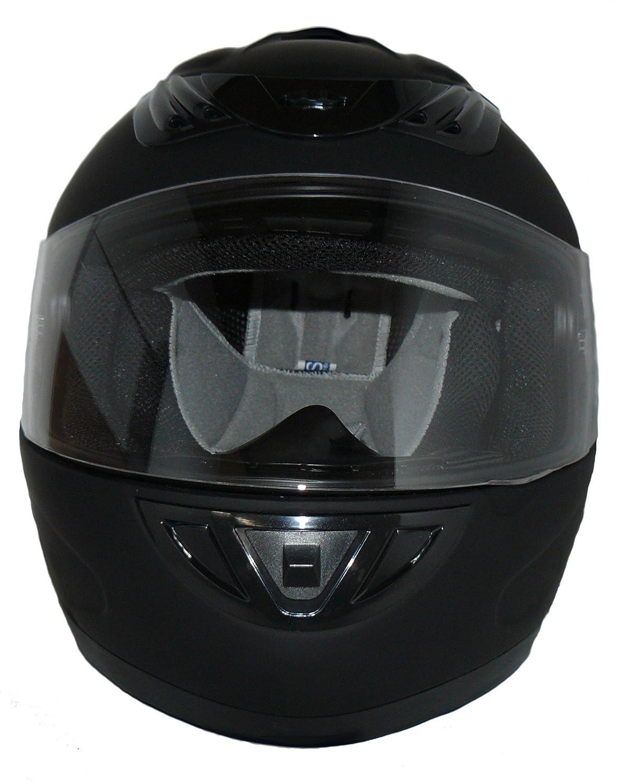 59-60 cm Nero//Giallo L Protectwear Casco Integrale da Moto