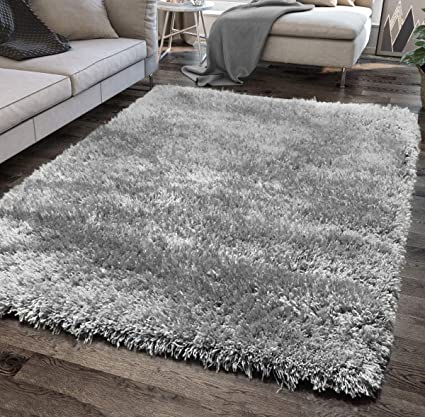 Grey Beige Rug Thick Modern Carpet Rug for Living Room Bedroom Small Large XL