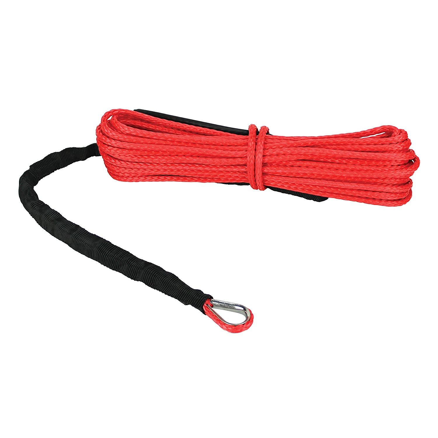 Extreme Max 5600.3081''The Devil's Hair' ATV/UTV Winch Rope, Gray Devil' s Hair