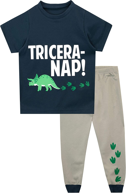 Ensemble De Pyjamas Ping Pop Dinosaures Gar/çon