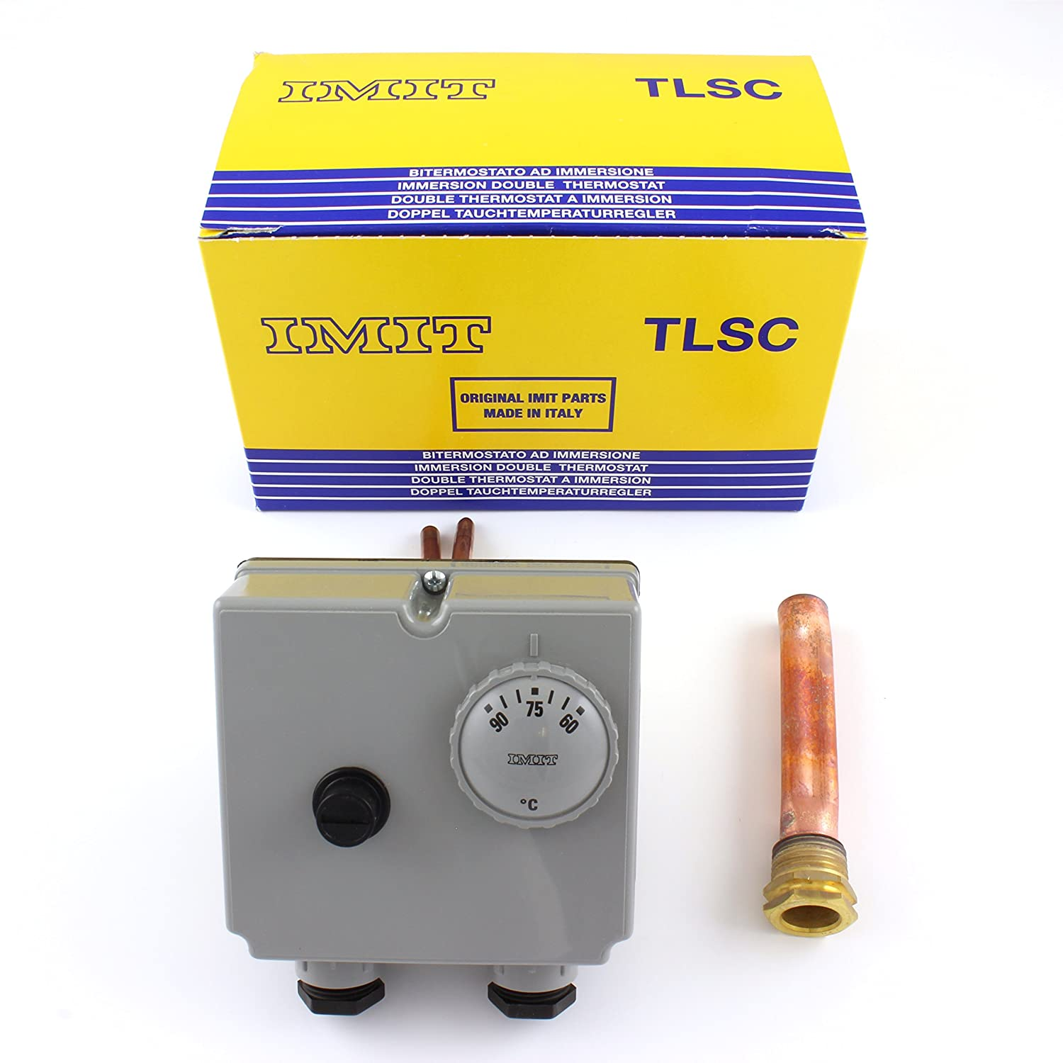 IMIT TLSC 07050 542816 adjustable (60 - 90 Degrees °C) Dual Immersion Imit Boiler Thermostat Wiring Diagram on