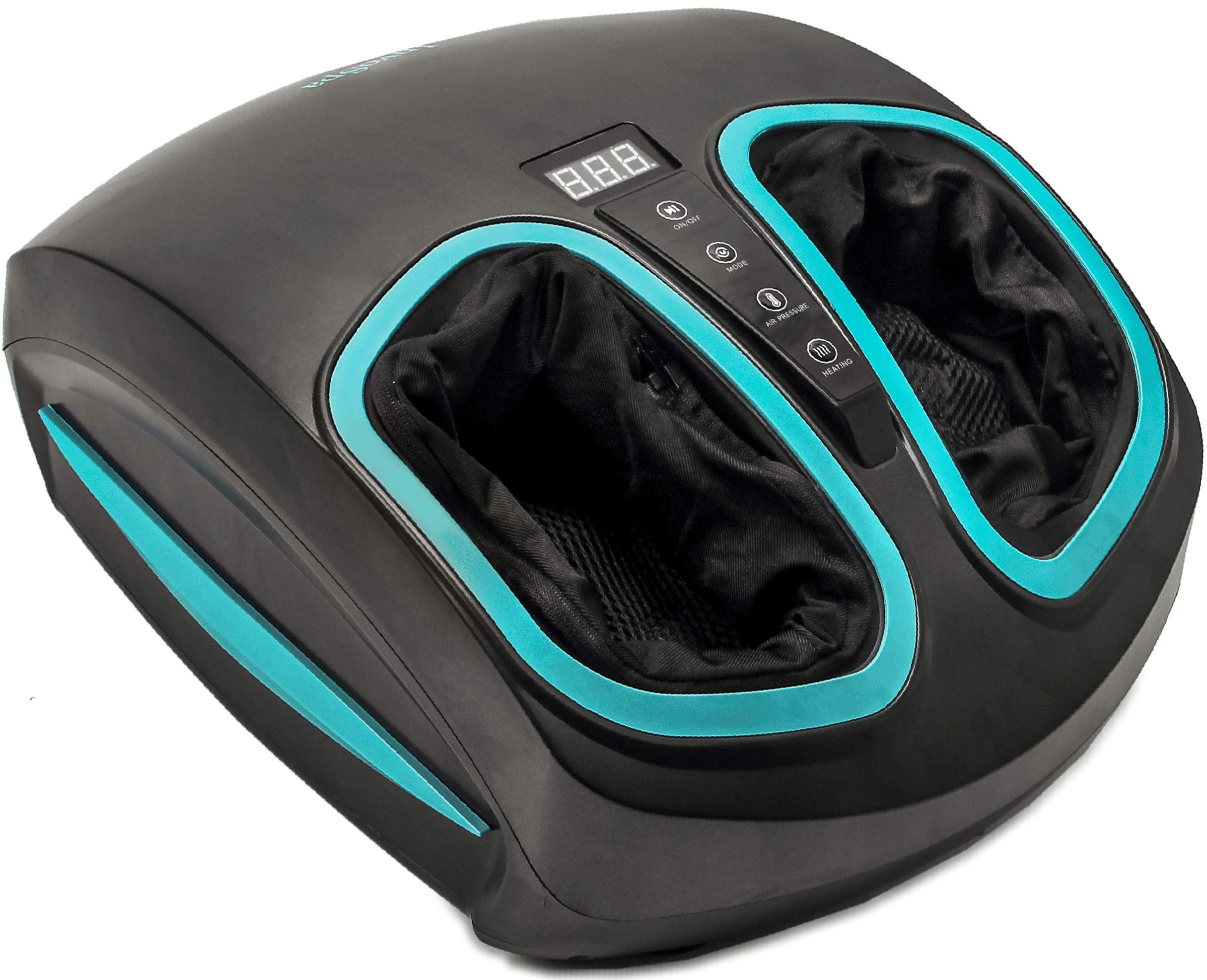 Invospa Electric Foot Massager Machine With Heat Shiatsu