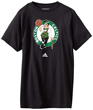 Adidas Boston Celtics NBA Black Full Primary Logo T-shirt camisa: Amazon.es: Deportes y aire libre