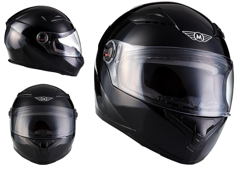 Amazon.es: MOTO X86 Gloss Black · Sport Casco Integrale Scooter Cruiser Fullface-Helmet Moto motocicleta Urbano Urban · ECE certificado · visera incluido ...