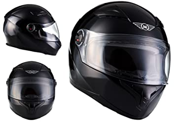 MOTO X86 Gloss Black · Cruiser Casco Integrale Urban Urbano Moto motocicleta Fullface-Helmet Scooter