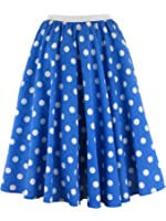Ladies Polka Dot Rock and Roll 50's 60's Style Skirt & Scarf
