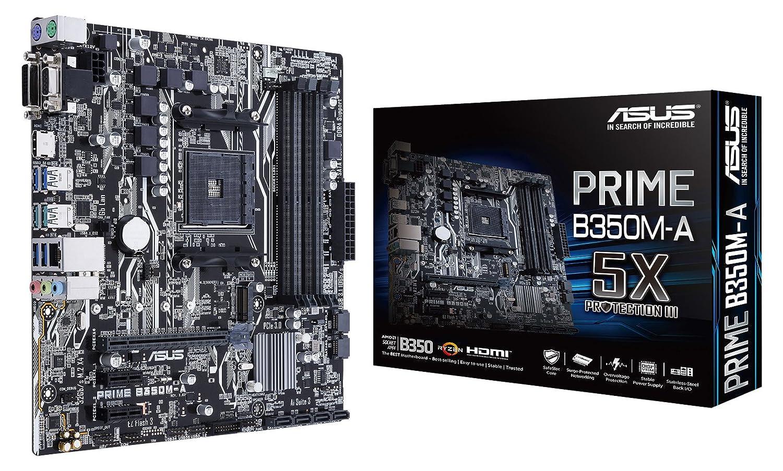 Asus PRIME B350M-A//CSM Carte m/ère AMD Socket AM4
