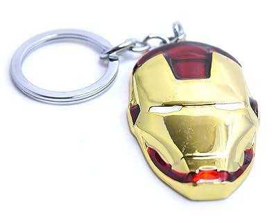 Beaux Bijoux Iron Man máscara Llavero – Los Vengadores – Marvel Comics