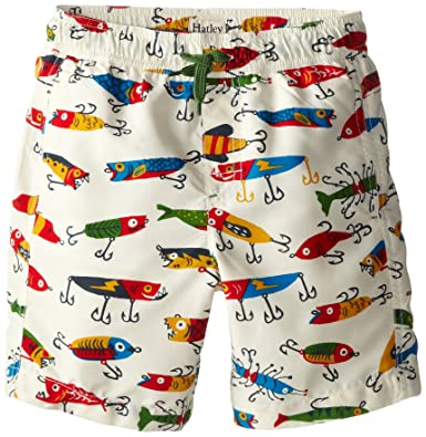 439d3ba490846 Amazon.com: Hatley Little Boys' Fishing Lures Swim Trunks: Clothing