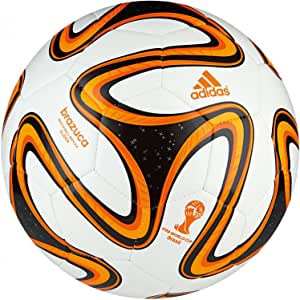 Adidas Brazuca Glider - Balón de fútbol (tamaño juvenil, talla 4 ...