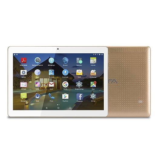240 opinioni per BEISTA 10 pollici (10.1) Tablet con Funzione Telefono-Oro(Processore Quad