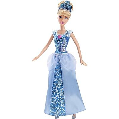 Mattel Disney Sparkle Princess Cinderella Doll: Toys & Games