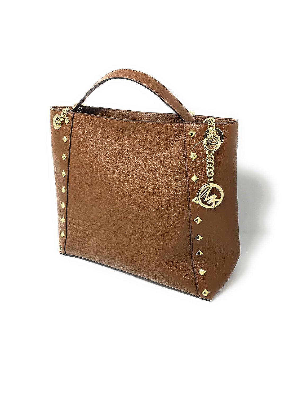 Amazon.com: Michael Kors Kathy - Bolso de hombro con cadena ...